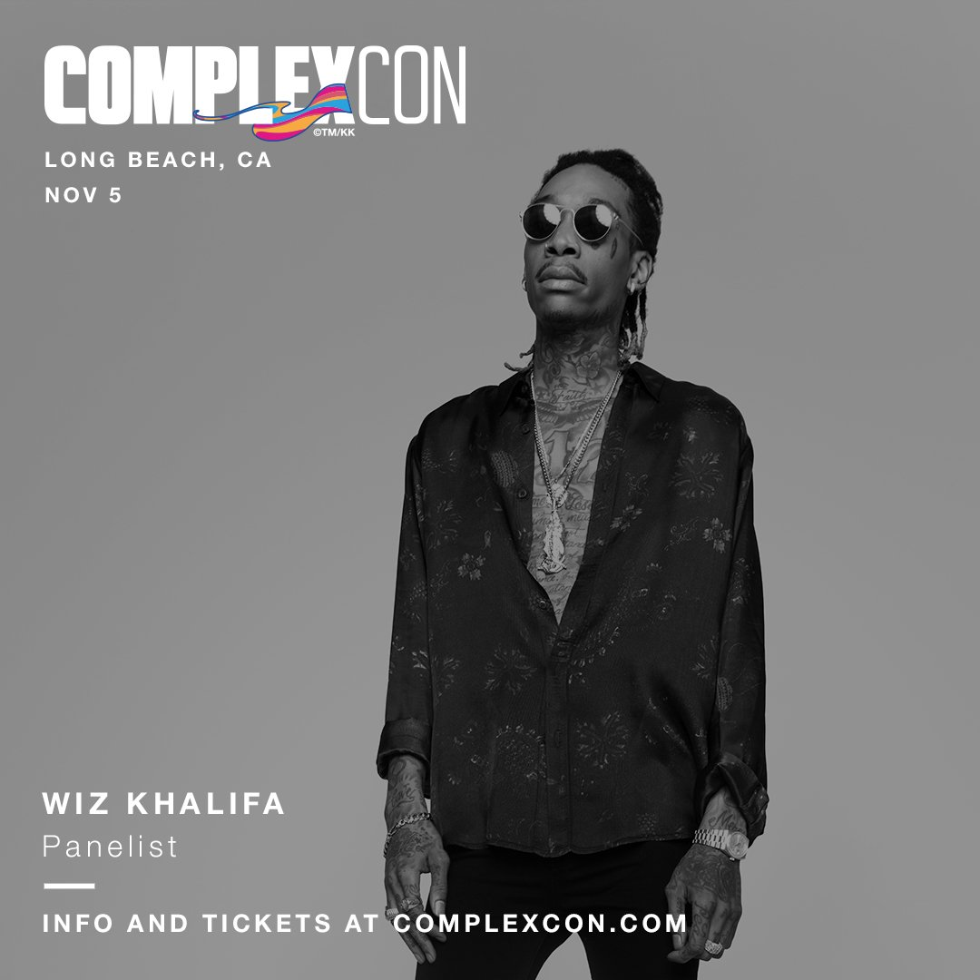 Saturday at ComplexCon. https://t.co/FvZM51Zft3