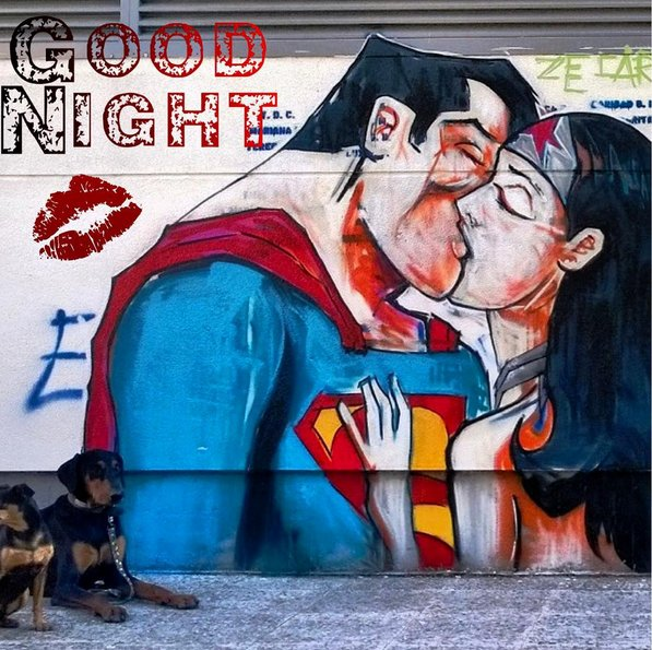 #superman #WonderWoman #grafitti #StreetArt https://t.co/tpdbn5MnIf