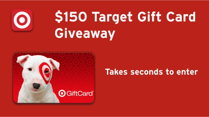 $150 Target Gift Card Giveaway - ends 11/14! Enter to win