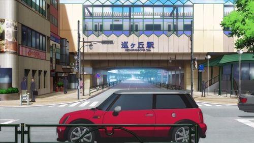 【作品】がっこうぐらし!【人物】佐倉 慈【車種】BMW・ミニクーパーS【年式】2004年~ R53 後期型