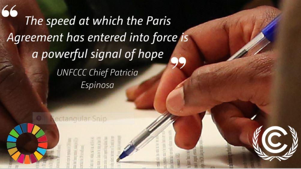 #ParisAgreement: Paris Agreement