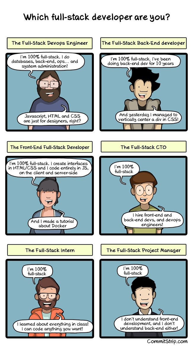 Which full-stack developer are you? (via https://t.co/qINcKcav0l) https://t.co/8WZv8bCqJy