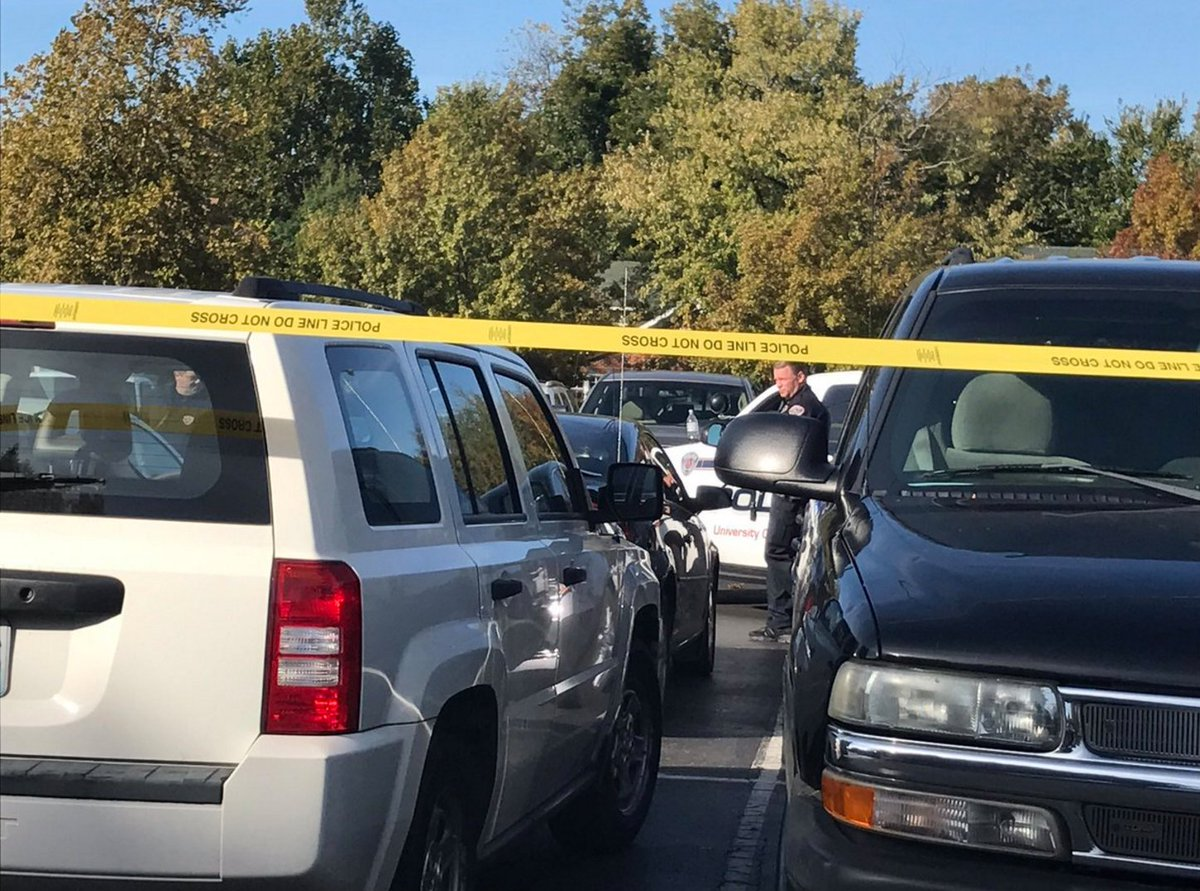 OUPD is investigating a body found inside a car in the Dale Hall parking lot this morning:  https://t.co/qNwp2FWgGj https://t.co/KENnk8wRae