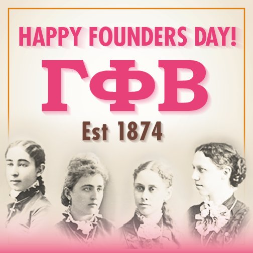 Happy Founders Day, sisters! #Est1874 https://t.co/VOIGBry1R5