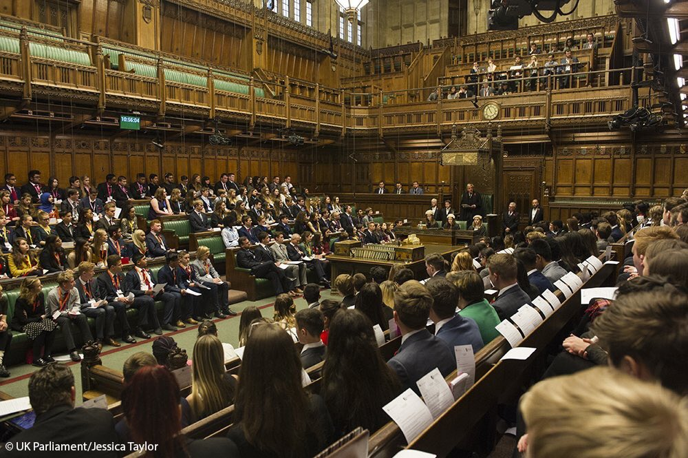 BREAKING: UK Youth Parliament to campaign on #votesat16 and a 'curriculum for life'. #UKYPHoC https://t.co/fv1gCyXcEB