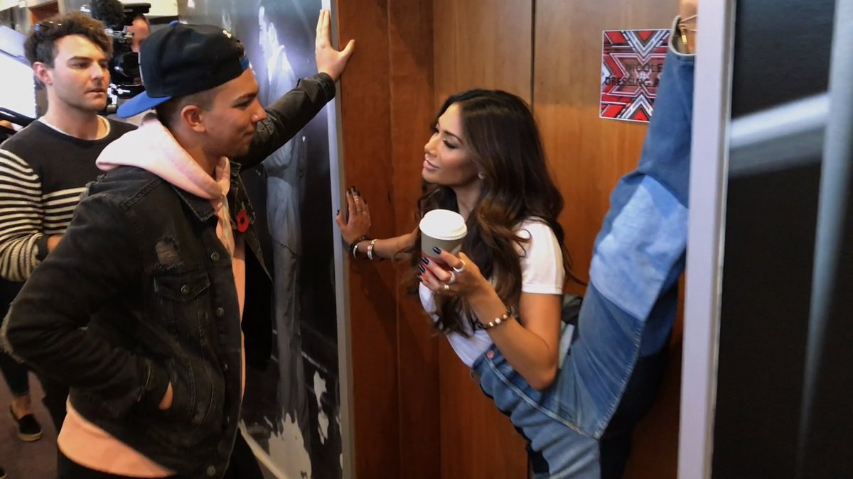 RT @TheXFactor: The #XFactor #MannequinChallenge wouldn't be complete without a high-kicking @NicoleScherzy. ???? https://t.co/IgORrQaWOj