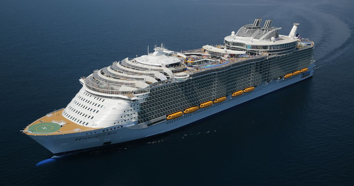 Here it comes! World's largest cruise ship arriving in USA