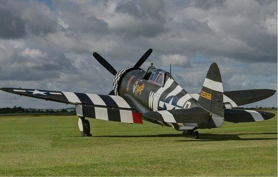 P-51 に負けず評判がいいP-47 サンダーボルト #P47Thunderbolt