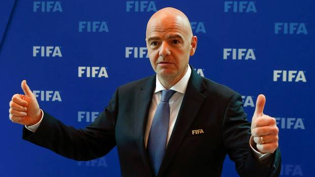 FIFA president threatens funding to nontransparent members From @Globe_Sports