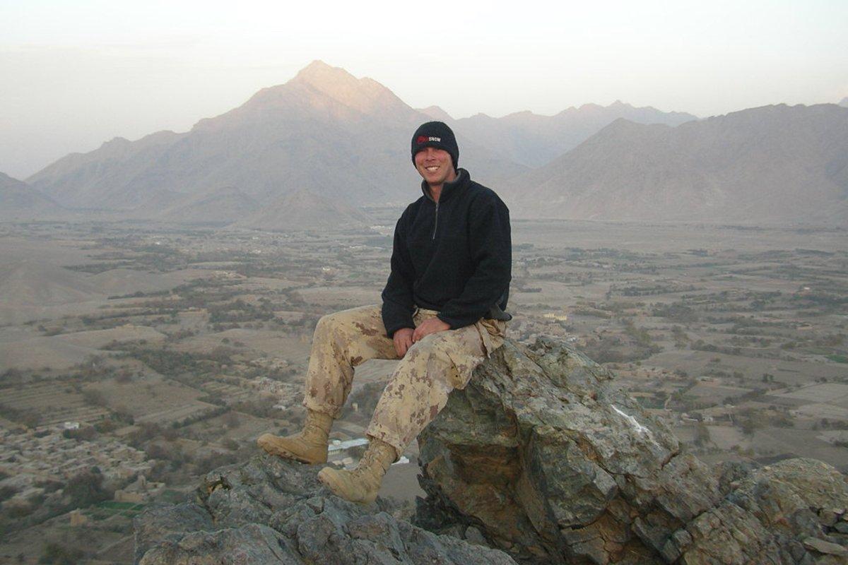 Cpl. Stuart Langridge skipped high school graduation to attend boot camp
