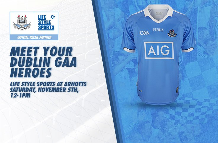 We're excited to announce that we will have a Dublin #AllStar in our new Arnotts store. Who will it be? #COYBIB https://t.co/0i8fFQRrQ8