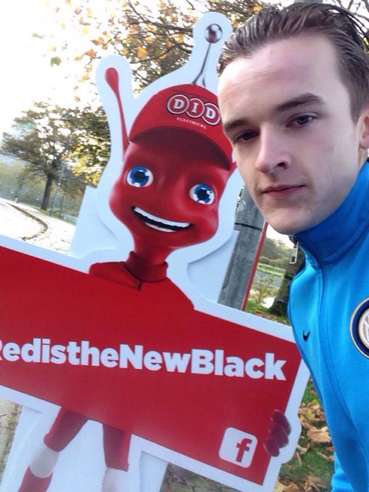 Congrats to Alex who won our first FB Live Comp! More details next week of our next location! #RedistheNewBlack https://t.co/d7iO2z28De