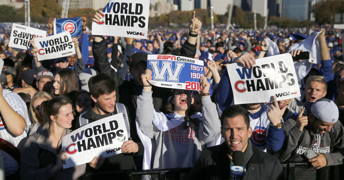 Fly the W: Cubs fans bask in World Series glory at parade