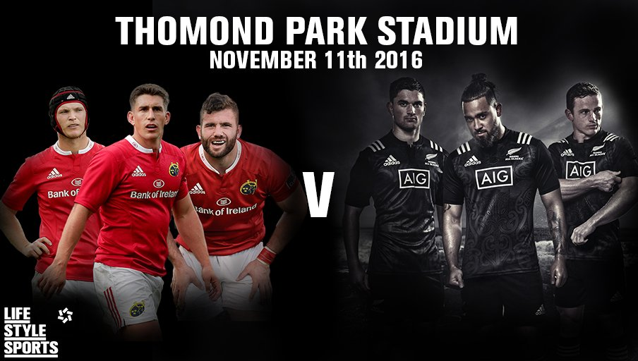 Pop over to our Facebook page to WIN tickets to @Munsterrugby v Maori All Blacks. #MunsterRising https://t.co/ZFml04GmBD