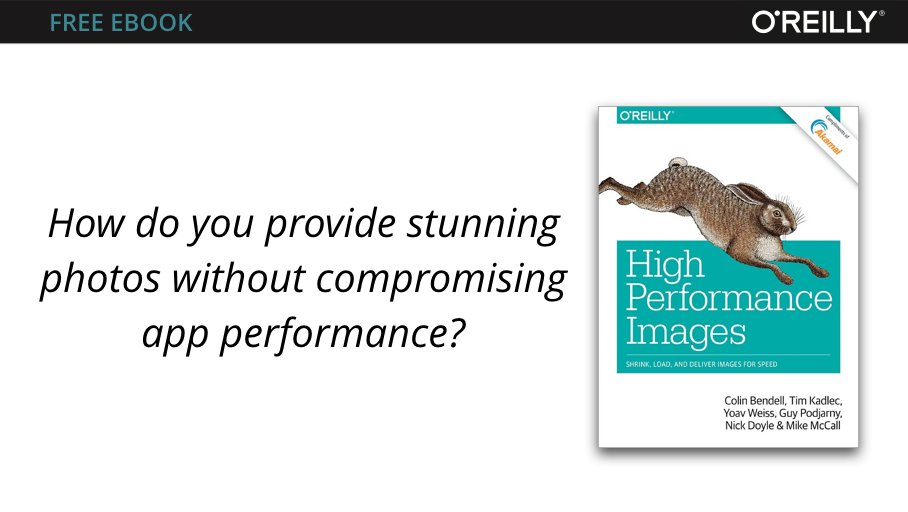 Download your free copy of 'High Performance Images' compliments of @Akamai https://t.co/GthZbMyGsp https://t.co/adcZlIoAhQ