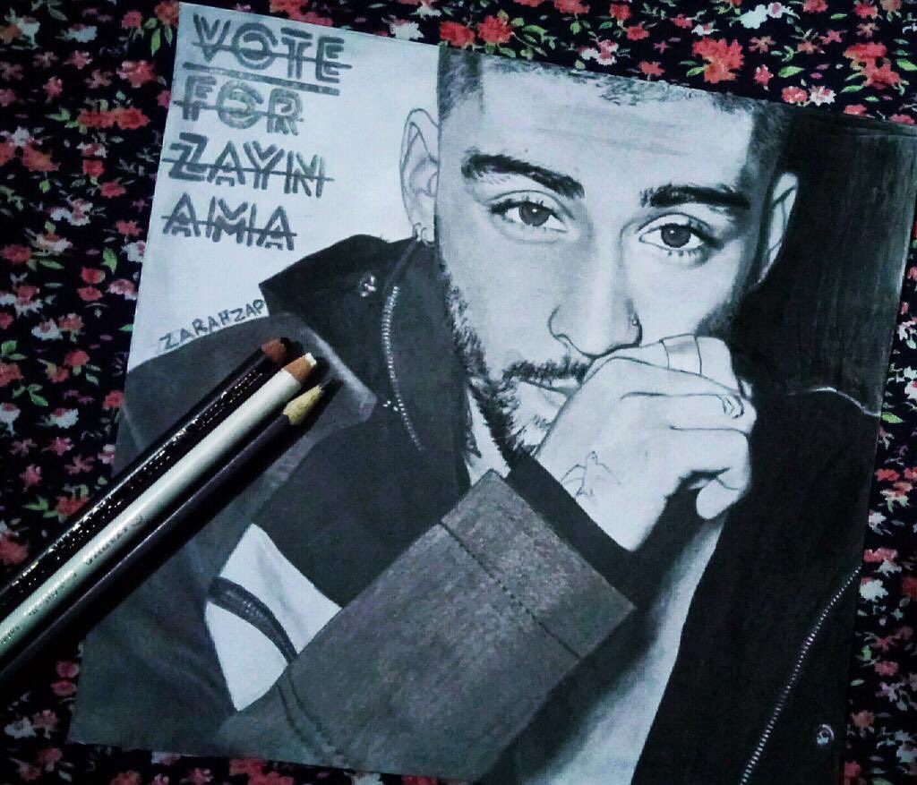 Pretty humbling seeing @zaynmalik for #AMAs new artist of the year on Twitter today ... thanks zquad 🙌🏽