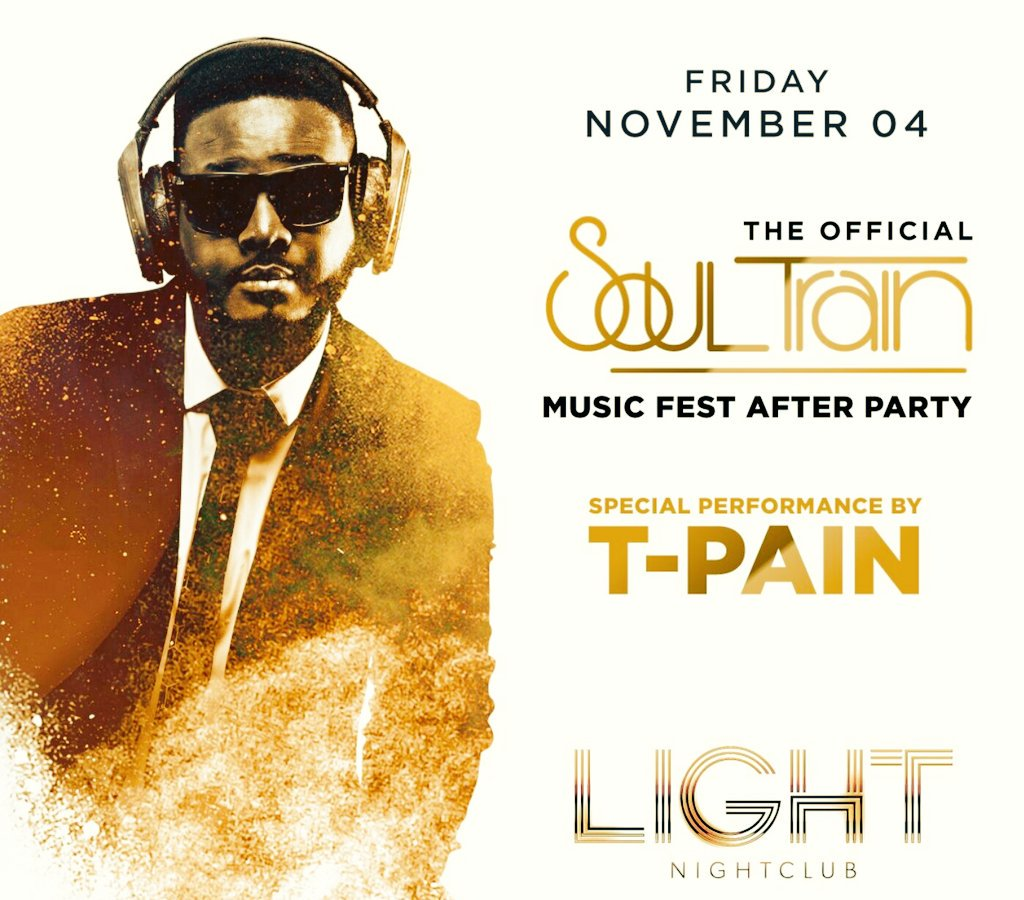 @TPAIN Tonight at @thelightvegas Bottleservice and Guestlist, call or text 805.698.6931 #tpain #SEMAShow #SoulTrainAwards #vegas #vegasbound https://t.co/9NXO4LGRHj