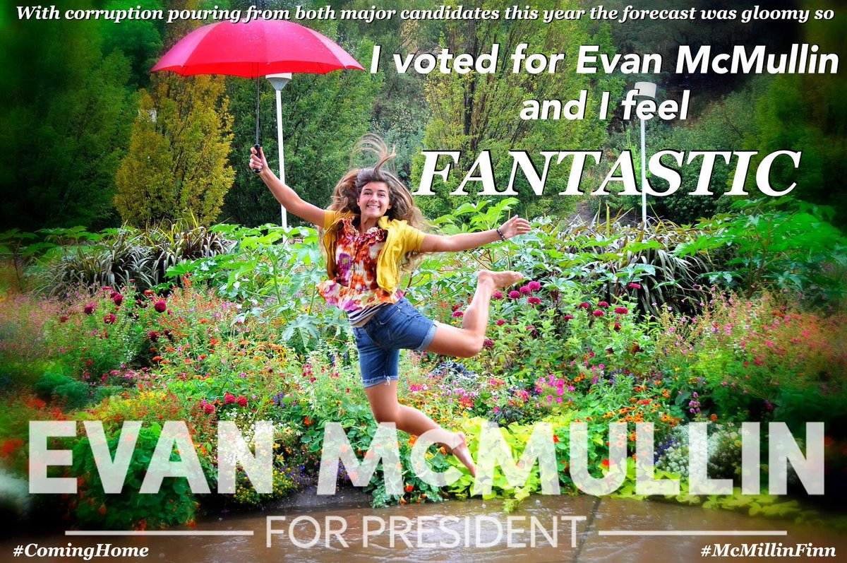 Voting without having to use bleach to cleanse yourself! #ComingHome #EvanMcMullin #McMullinFinn #Deny270 https://t.co/ePswtXUFYo
