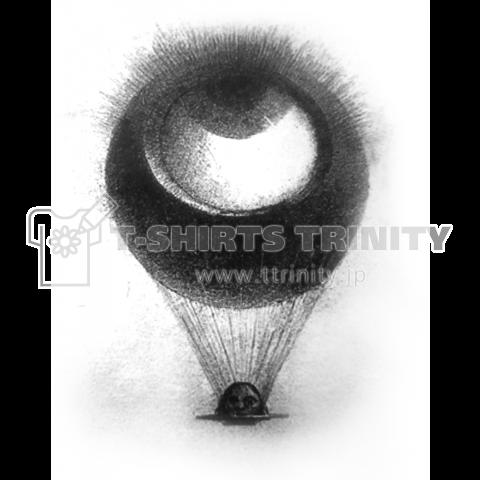 ◉眼=気球=?◉惡の華≒バックベアード≒?#Tシャツ #トレーナー #tshirt #眼 #サブカル #気球 #
