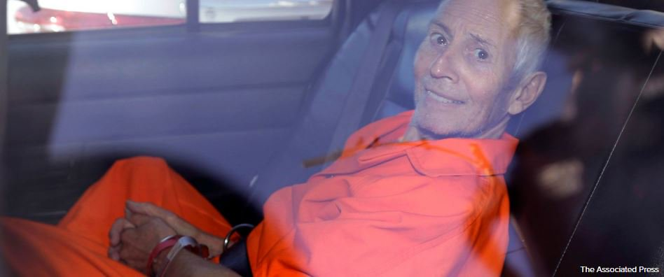 Real estate heir Robert Durst in California to face murder charge