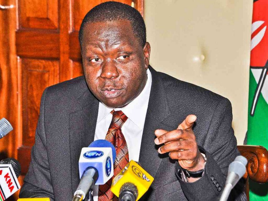 Changes to school calendar working, says Matiang'i
