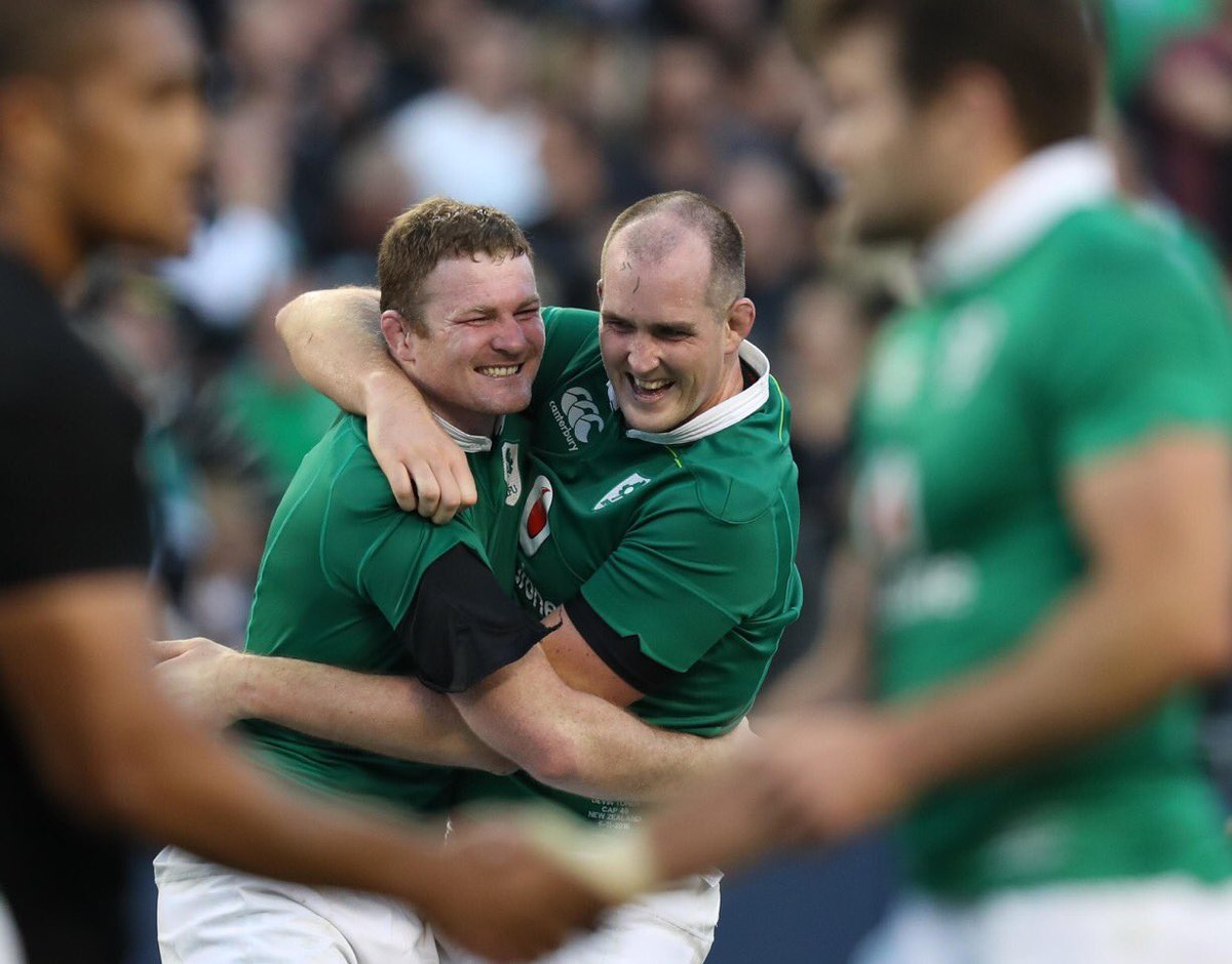 When you've had the match of your life #ForVictory #IREvNZL https://t.co/VKNwqEpQow
