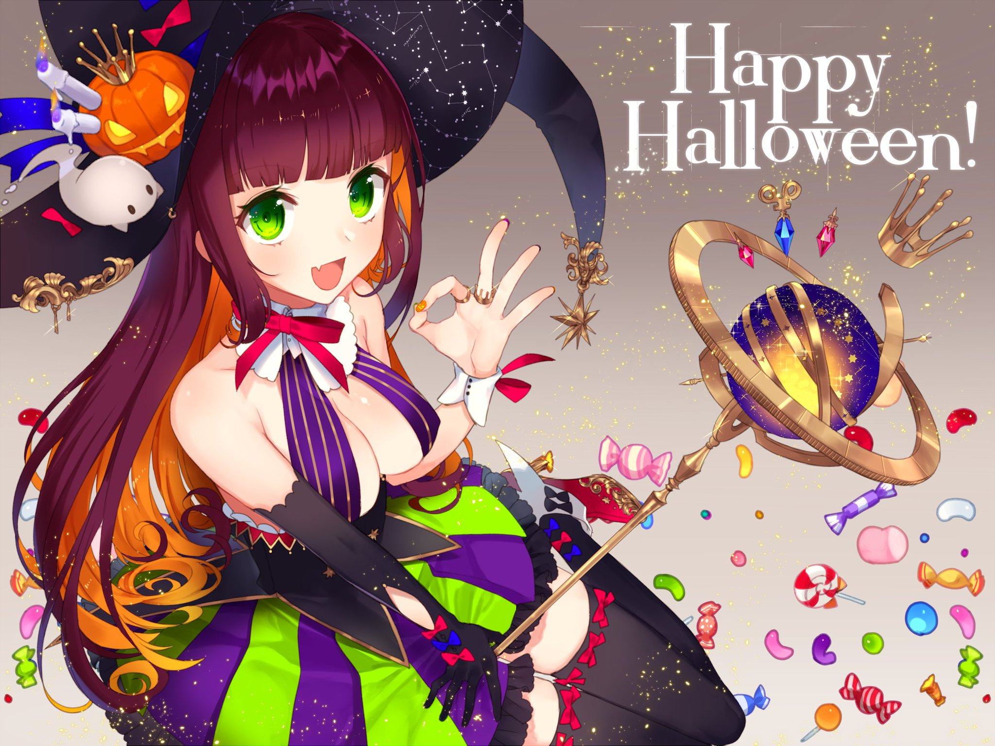 Trick or Treat!(ド遅刻) https://t.co/1Jjh9oEdTw