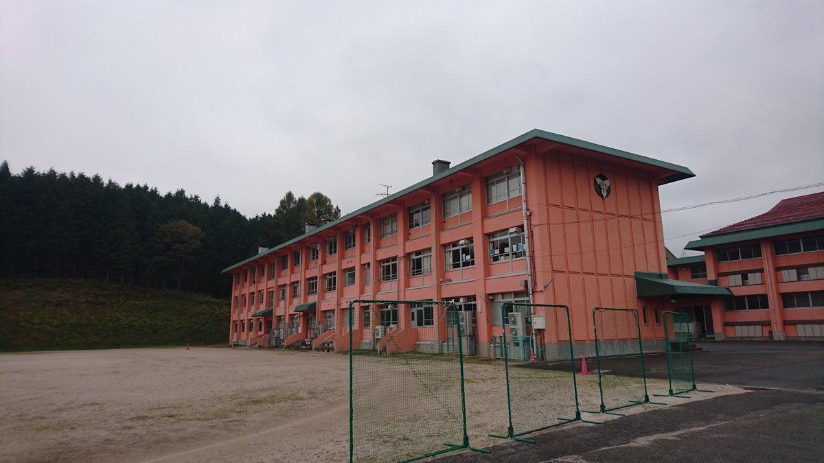 #君のいる町 で、青大くんたちが広島で通った高校は、#庄原市 立高野中学校がモデルなんよ❗#聖地巡礼