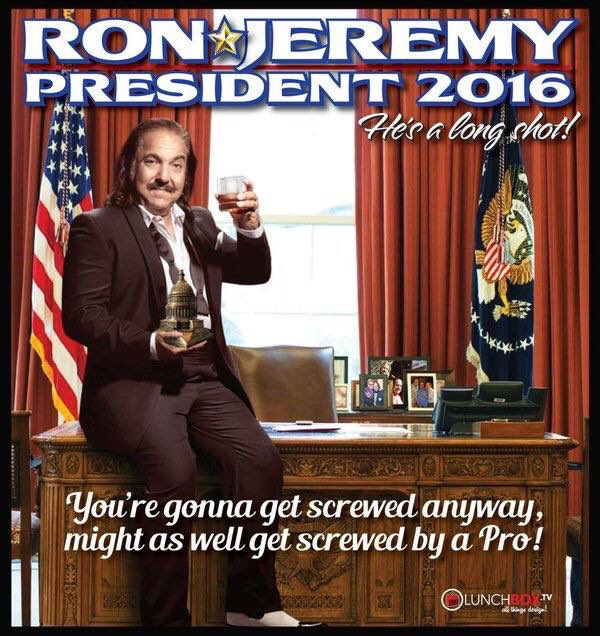 yeah baby!!! RonForPresident  @RealRonJeremy https://t.co/sstSBucoqL