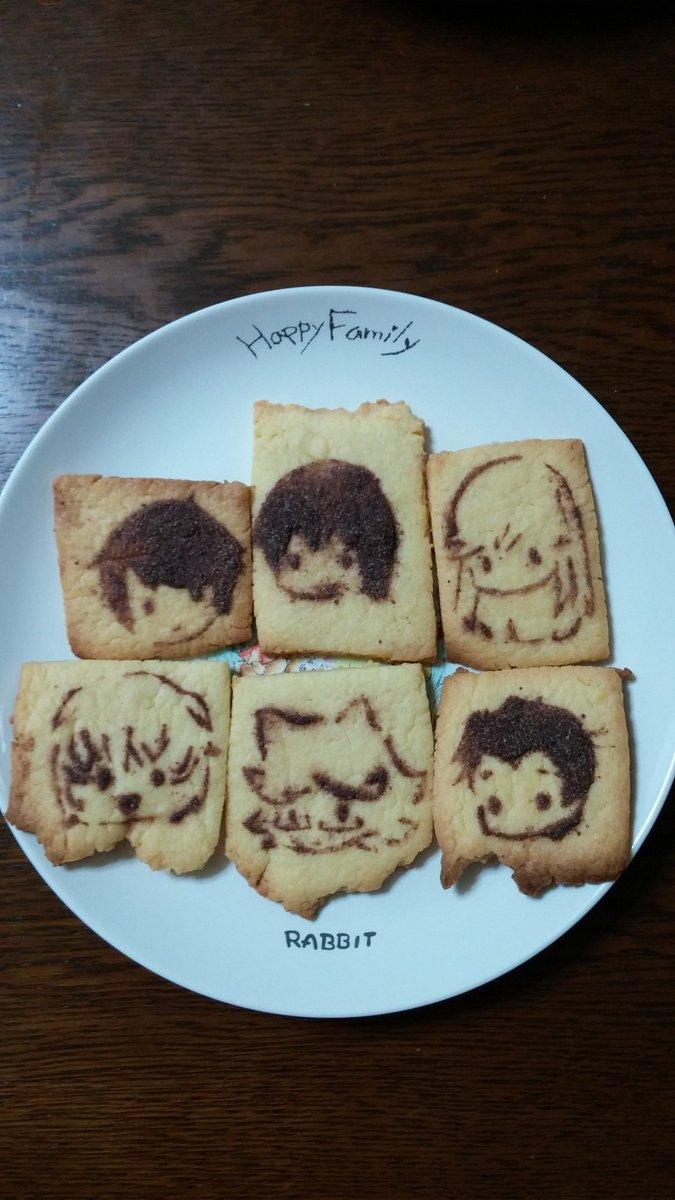 #MJPR劇場公開記念にちーらびのみんなのキャラクッキー作ってみたー!