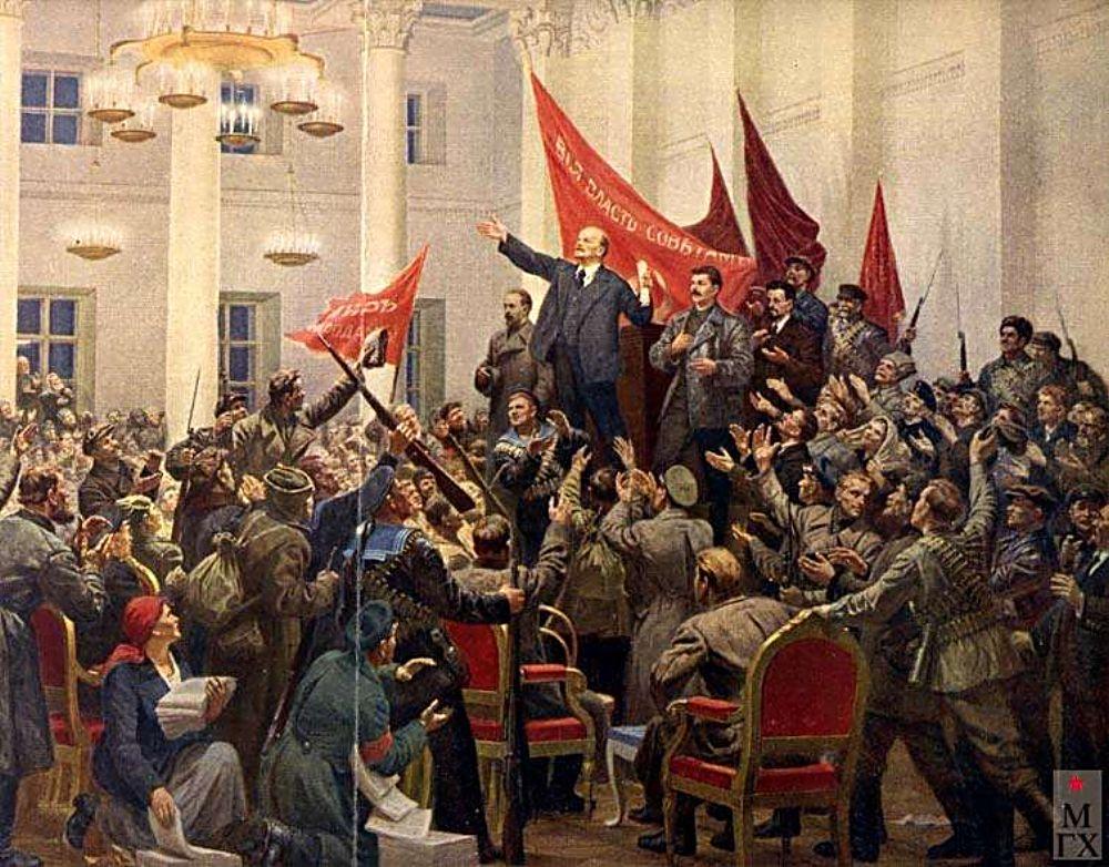 Почему старый новый год а революция