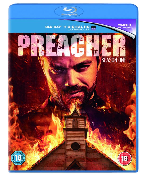 #Win 1 of 3 copies of PREACHER : Season One starring Dominic Cooper on Blu-Ray. RT to enter. Closes 9/11/16 9pm #Competition