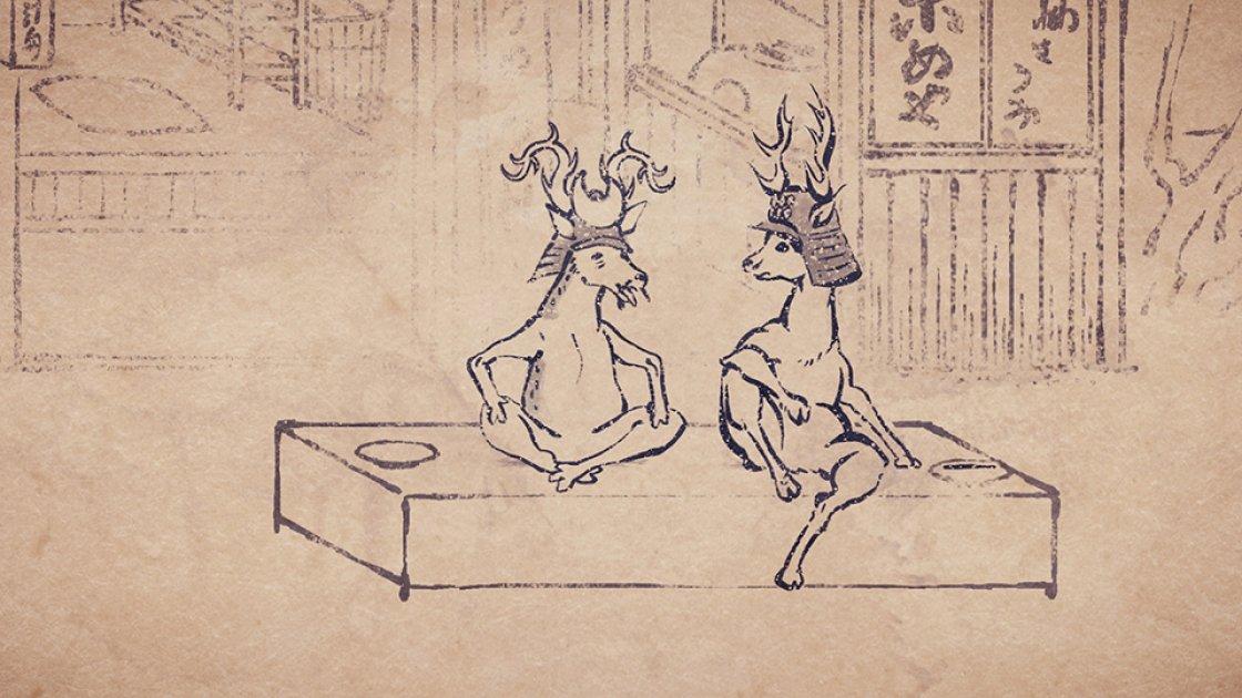 tvkにて23:55~第5話「六文銭」放送です。登場するのは、大河ドラマで大ブームの真田◯!話題のあの親子も、戦国鳥獣戯