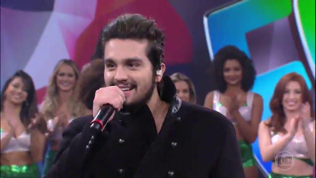 #LuanSantanaNoFaustao: Luan Santana No Faustao