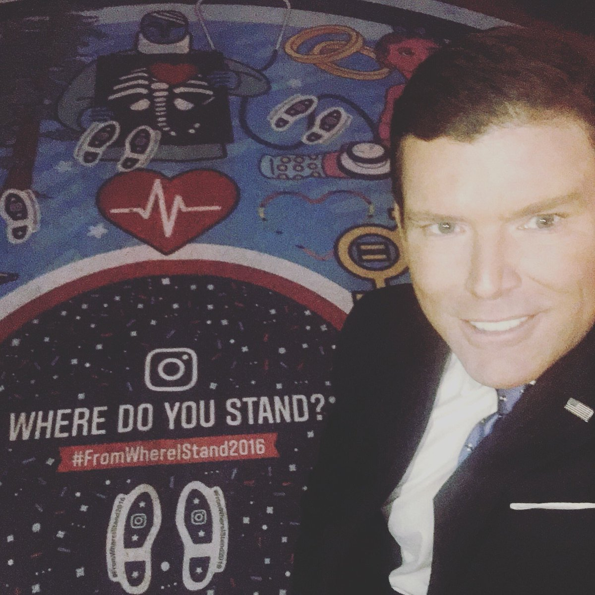 Join me tonight 6pmET on #SpecialReport to hear more abt @instagram #fromwhereistand2016 project! #foxnews