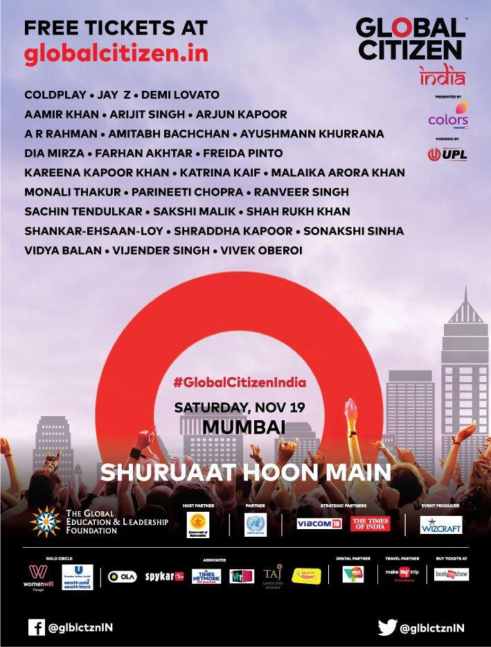 November 19th | Mumbai | Change begins with me #ShuruaatHoonMain https://t.co/CsfyO4MclZ