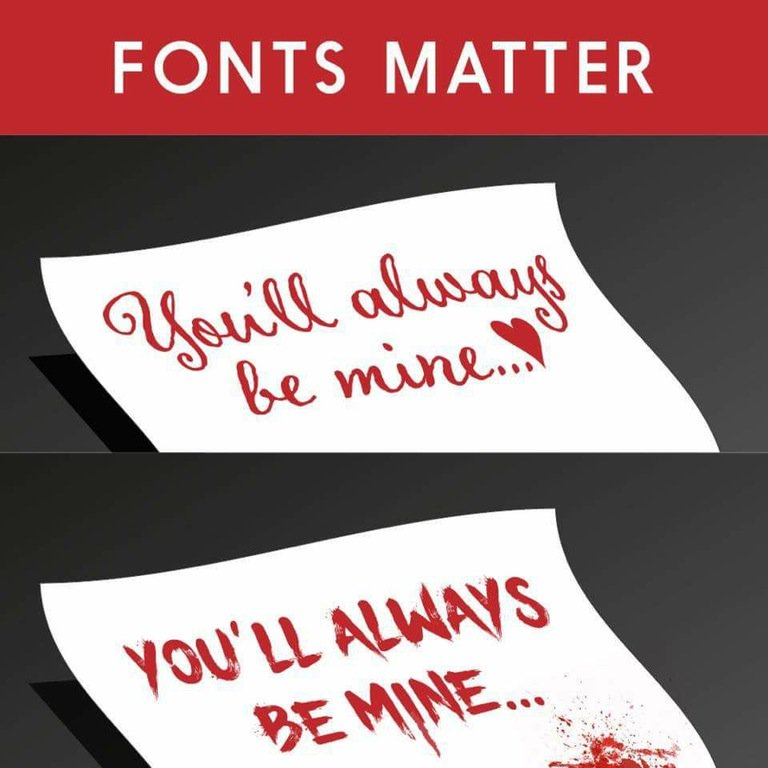 #Fonts matter #lol https://t.co/DYxvb3THmv