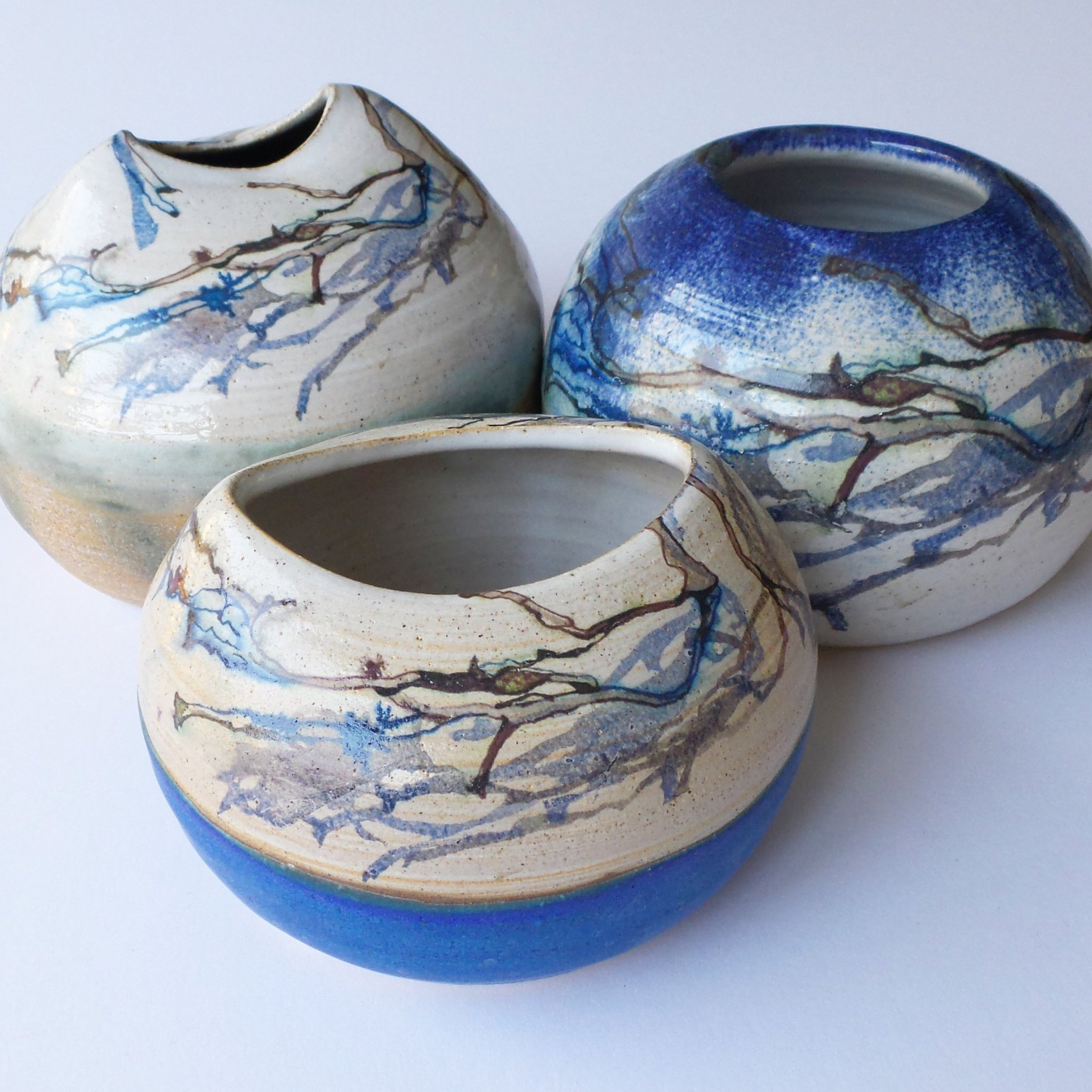 Ceramic Seaweed bud vases #design #ceramic #drawing #painting https://t.co/dtRxyVJFwN