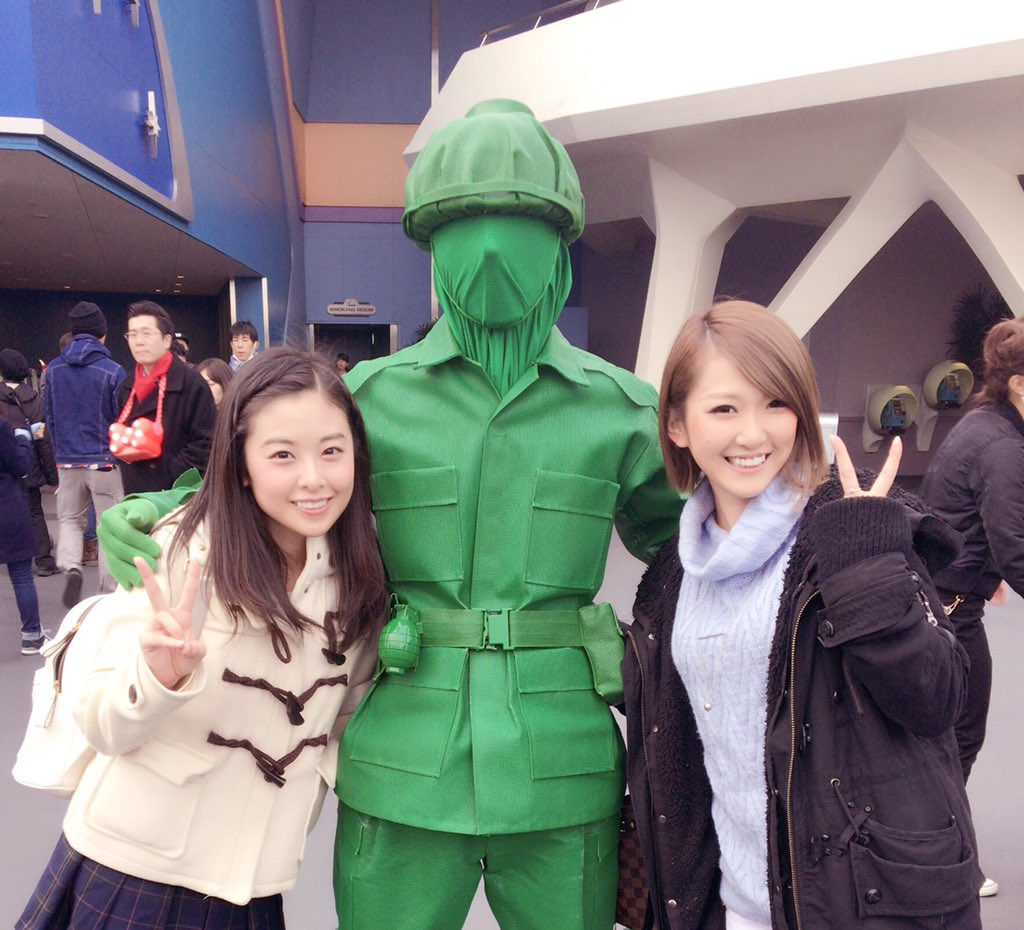 こないだお姉ちゃんとディズニー行った時に久しぶりに緑の人に会ったんだけど、いつもこの人の名前を調べては忘れて調べては忘れ