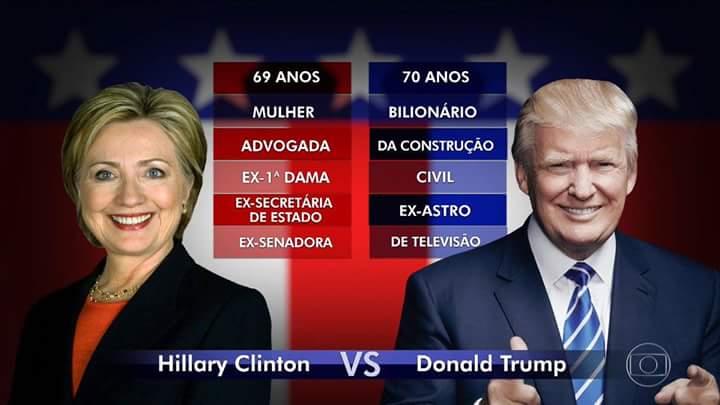 Hillary e Trump
