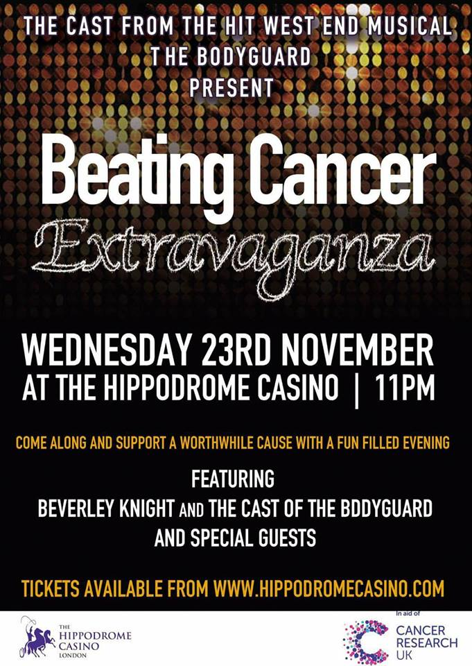 PLEASE RT! All for a great cause @CR_UK featuring the cast of @TheBodyguardUK #CancerResearch https://t.co/6LDIVOPitC