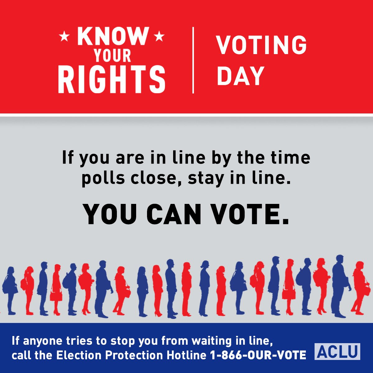 PSA: If you are in line by the time the polls close, stay in line. https://t.co/zA9KkkaMRU