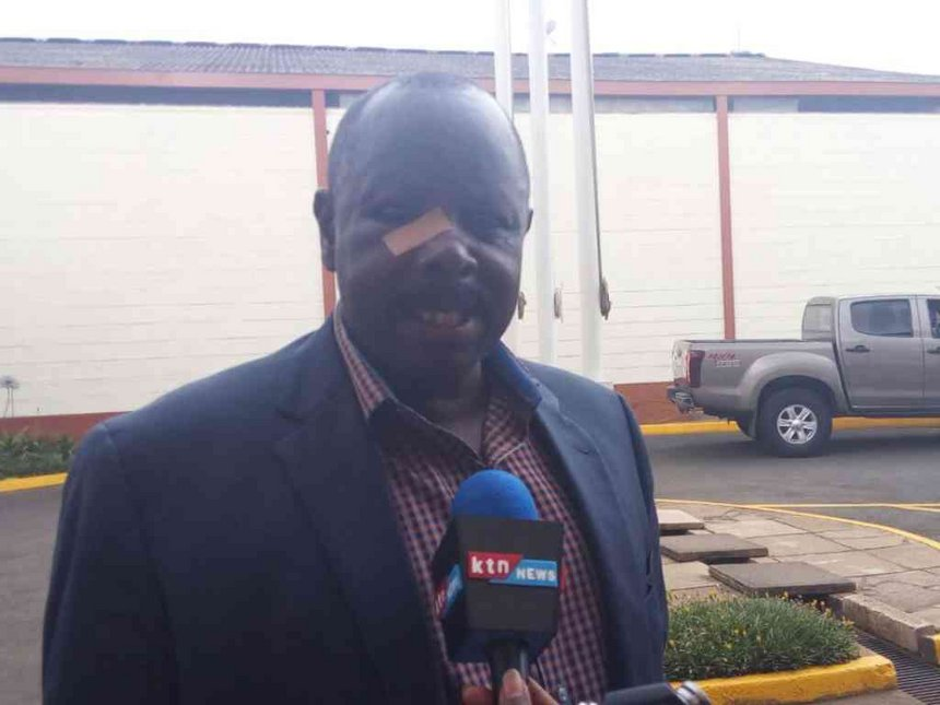 Rutto leaves for treatment in SA after tear gas canister assault