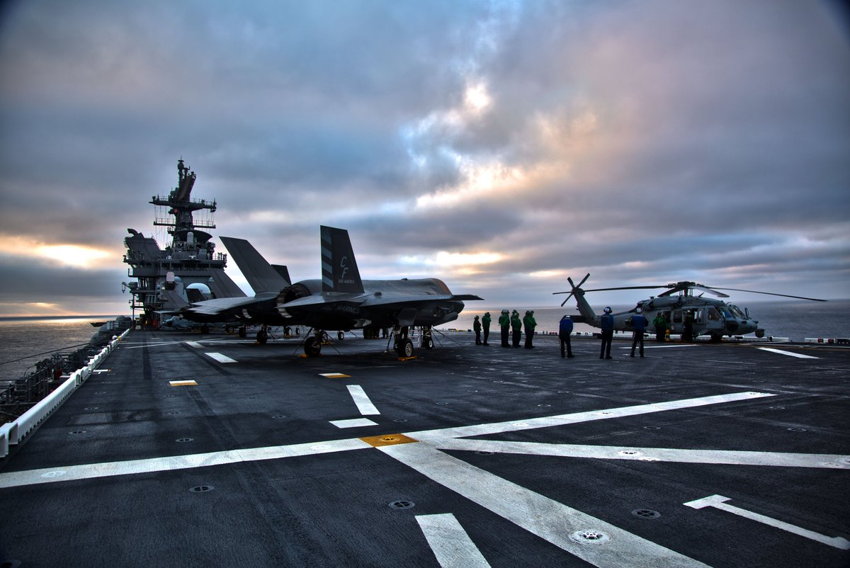 Third Developmental Test Phase on USS America  #USNAVY #flynavy #USSAmerica https://t.co/7SQmoKTc4K
