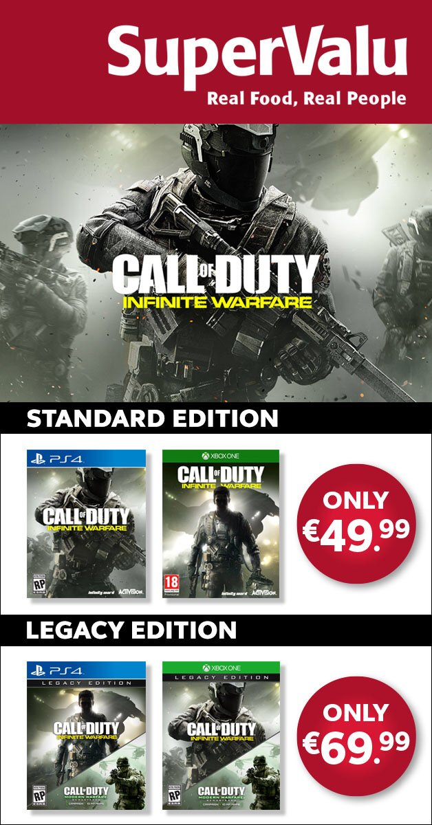 Have you got yours yet? We still have plenty on offer! Don't miss out #CallOfDuty https://t.co/qKlHny8yyK