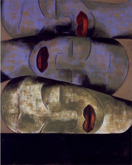 Friendship Francesco Clemente, italian painter 1991 https://t.co/hFpkDJtLTc