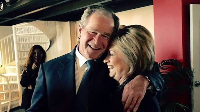 JUST IN: Limbaugh: George W. Bush, Laura Bush voted for Clinton https://t.co/4GSq9NHckt