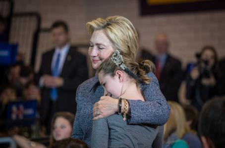 Hillary Clinton eltűnt