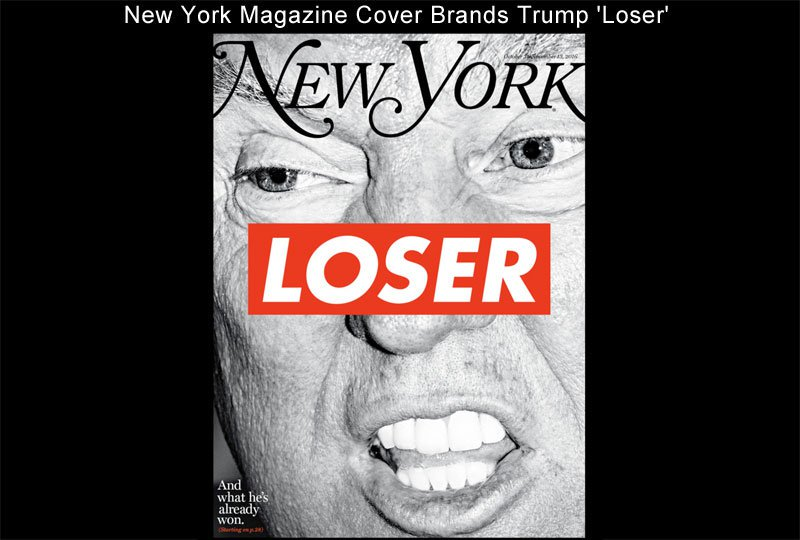 "Well now, thanks to New York Magazine for our generation's ""Dewey Defeats Truman"" cover. https://t.co/5ZgOxJwDa1"