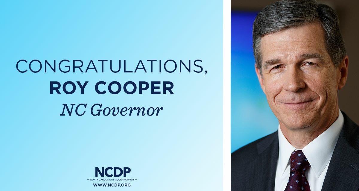 Congratulations, @RoyCooperNC! https://t.co/1xpWl7hIcQ